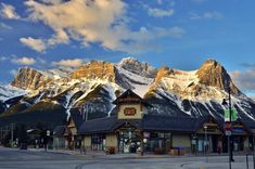 Downtown Canmore; Photo James