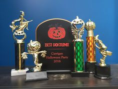 Enjoy the spooky season with a custom Halloween Trophy or Award from Awards! Halloween Trophies, Spooky Halloween, Halloween Party, Halloween Costumes, Trophies And Medals, Fall Picnic, Get In The Mood, Trunk Or Treat, Cool Costumes