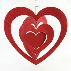 """35.5""""X33.5"""" LARGE MOBILE HEART"""