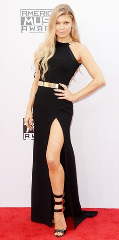 The Best Looks from the 2014 American Music Awards - Fergie from #InStyle