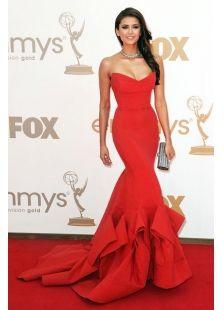 Nina Dobrev Dress On Emmys 2011 (MF63G7)