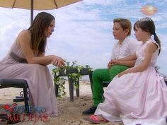 Paulina, Valentina, y Mauricio #aquenomedejas A Que No Me Dejas
