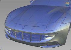 Ferrari 3D Alias Model
