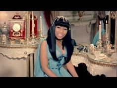 "Nicki Minaj- Moment for Life. ""In this very moment I'm king, in this very moment I slay Goliath with the sling."""