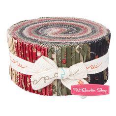 Wintergreen Jelly Roll 3 Sisters for Moda Fabrics-christmas