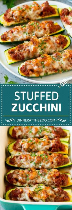 You Have Meals Poisoning More Normally Than You're Thinking That Stuffed Zucchini Boats Recipe Baked Zucchini Low Carb Zucchini Sausage Recipes, Beef Recipes, Chicken Recipes, Vegetarian Recipes, Cooking Recipes, Cooking Games, Keto Chicken, Stuffing Recipes, Vegetarian Dinners