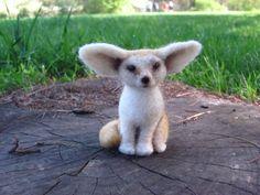 Fennec fox by HandmadeByNovember on Etsy, $35.00
