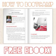 How to BootCamp — Hi Everyone, a little eBook I've put out on Social Media 👍🏻 Live Strong, StrengthRocks!