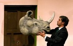 Ionesco's Rhinoceros on Stage at Tehran