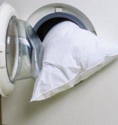 Di lattice, in piuma o sintetici, ecco come pulire i vostri cuscini ed eliminare polvere, acari e batteri