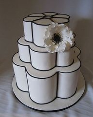 Love the shape of this cake.