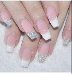 nails, beauty, and pretty image Gelish Nails, Nude Nails, Nail Manicure, Gel Nail, Pedicure, Great Nails, Cute Nail Art, Tape Nail Designs, Hair And Nails