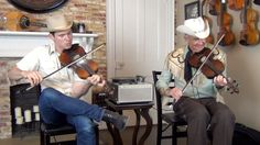 Old Time Fiddlin' with Woody and Ketch -- LOVE IT!