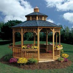 Flower Garden /Gazebos on Pinterest  Gazebo, Flower Garden Design and ...