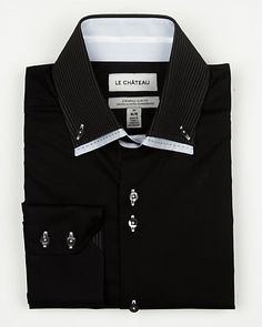 Le Château: Cotton Blend Euro Fit Shirt
