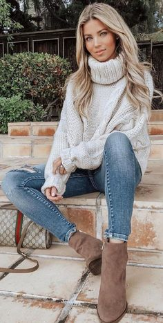 für Frauen Herbstmode Herbst-Outfit-TrendsHerbst-Outfit-Ideen für Frauen Herbstmode Herbst-Outfit-Trends 31 The Best Lovely Winter Outfits You Must Own in 2019 Базовый гардероб зимы образы, которые помогут подготовиться к холодному сезону ф. Cute Fall Outfits, Edgy Outfits, Casual Winter Outfits, Winter Fashion Outfits, Look Fashion, Autumn Winter Fashion, Fashion Models, Cool Outfits, Autumn Fall