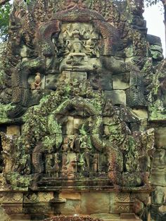 This is one side image of the Thammanon temple, Siem Reap city Cambodia. Check here to see what I am discussing about the temple in detail