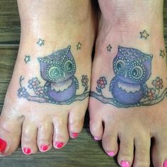 Whoooo knows you better? | 33 Super Cute Best Friend Tattoos