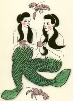 Green Tea Mermaids