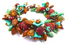 South West  Artisan Garden Bracelet Kit  in Beautiful by alohabead, $95.00