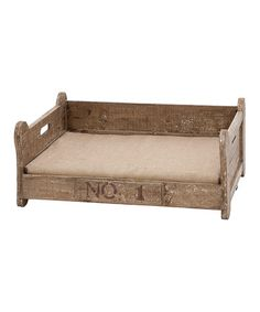 Another great find on #zulily! 'No. 1' Pet Bed #zulilyfinds