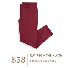 Stitch Fix Kut from the Kloth Siena Cropped Pant