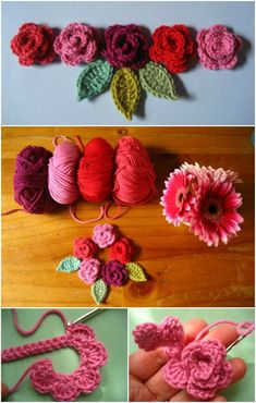 I have rounded up gorgeous #crochet #flowers #pattern to beautify your home that will really inspire you and you will love to try them out with your own hands:Rosy Crochet