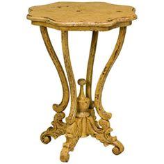 Dijon Side Table in Italian Mustard Yellow GM719054