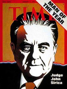 1973 - John Sirica -   Giudice del caso Watergate