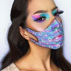 Face Paint Makeup, Eye Makeup Art, Beauty Makeup, Hair Makeup, Crazy Makeup, Cute Makeup, Makeup Looks, Cosplay Makeup, Costume Makeup