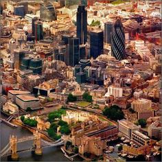 Little London tilt shift photo by Katarina Stefanović Oh The Places You'll Go, Places To Travel, Places To Visit, Travel Sights, Tower Of London, London City, London Bridge, E Dublin, City From Above