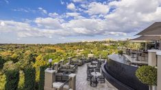 Best Joburg The Westcliff Flame Terrace with View