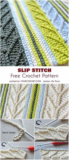 95 Best Crochet Stitches Free Images On Pinterest Crochet Patterns