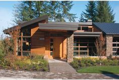 Eplans Contemporary-Modern House Plan - Nature Theme - 4600 Square Feet and 4 Bedrooms(s) from Eplans - House Plan Code HWEPL12295
