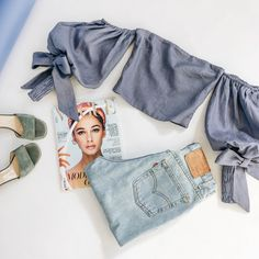 WWW.VERGEGIRL.COM Instagram Outfits, Shoulder Cut, Off Shoulder Tops, Jugend Mode Outfits, Teen Fashion Outfits, All About Fashion, Summer Outfits, Summer Clothes, Fashion Online