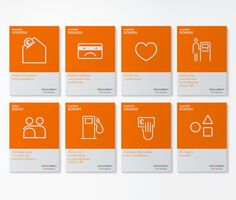 Ing Direct icons, by ruiz+company (Spain)