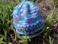 Knit 5-Hour Style Baby Hat - Free Knit Pattern