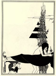 The Platonic Lament - Aubrey Beardsley