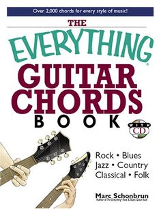 The Everything Guitar Chords Book: Rock, Blues,  Library User Group