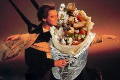 12 Classic Love Scenes Improved By A Chipotle Burrito