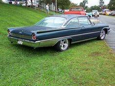 Ford Motor Company, Vintage Cars, Antique Cars, Car Man Cave, Ford Lincoln Mercury, Ford Classic Cars, Ford Fairlane, Sweet Cars, Car Ford