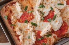 Chicken Parmesan Pizza - ChefTap