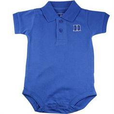 34ae7fc6da3 Duke Golf Shirt Romper. Duke Blue DevilsGolf ShirtsNewborn ...