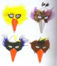How to Make a Bird Face Mask thumbnail