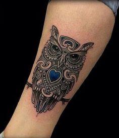 Owl Tattoo Design Ideas (6)