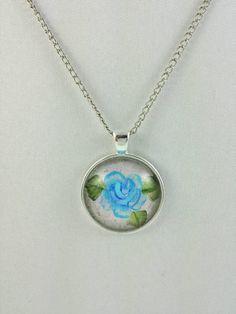 Original Art Jewelry Wearable Art Glass by AngelinesArtCreation