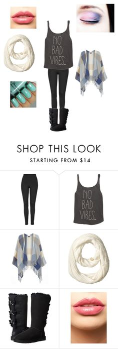 """""""Outfit for my mom❤️"""" by justine-n-m on Polyvore featuring Topshop, Billabong, Dorothy Perkins, Vince Camuto, UGG Australia, LASplash, women's clothing, women, female and woman"""