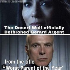 Teen wolf parents| Peter was a suprisingly good parent compared to those two