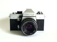 Pratika Pentacon Camera - Vintage East German Design - Iconic Deutschland Germany Mods by FunkyKoala on Etsy