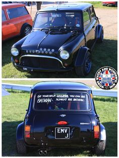 Love this modified W.A.W Mini we spotted at MITP. Very cool detailing & an awesome stance too.